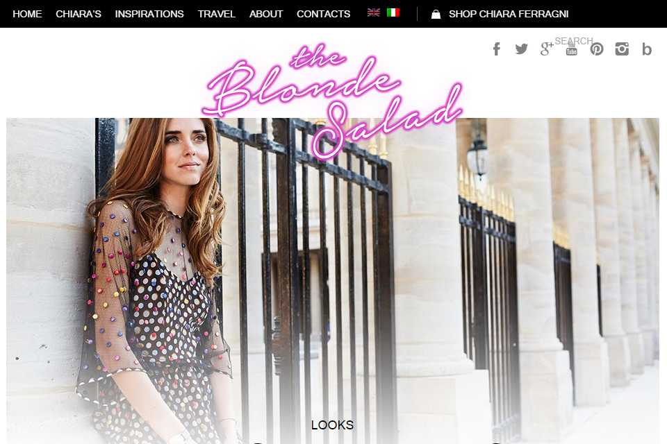the blonde salad blog italie