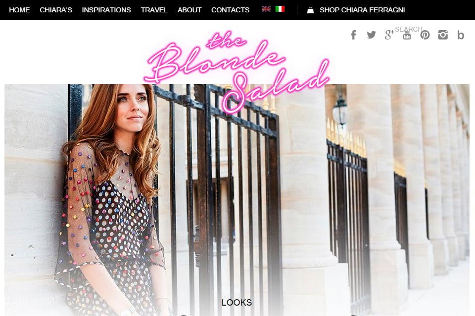 the blonde salad blog italie