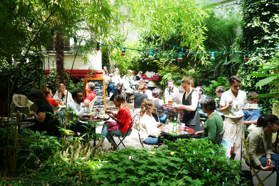 10 bars paris pour un premier rendez vous - Terrasse jardin resto paris toulouse ...