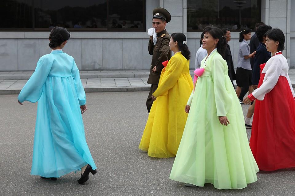 mode femmes Corée du nord