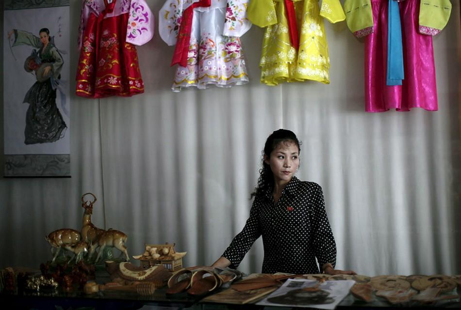 magasin vêtement Corée du nord