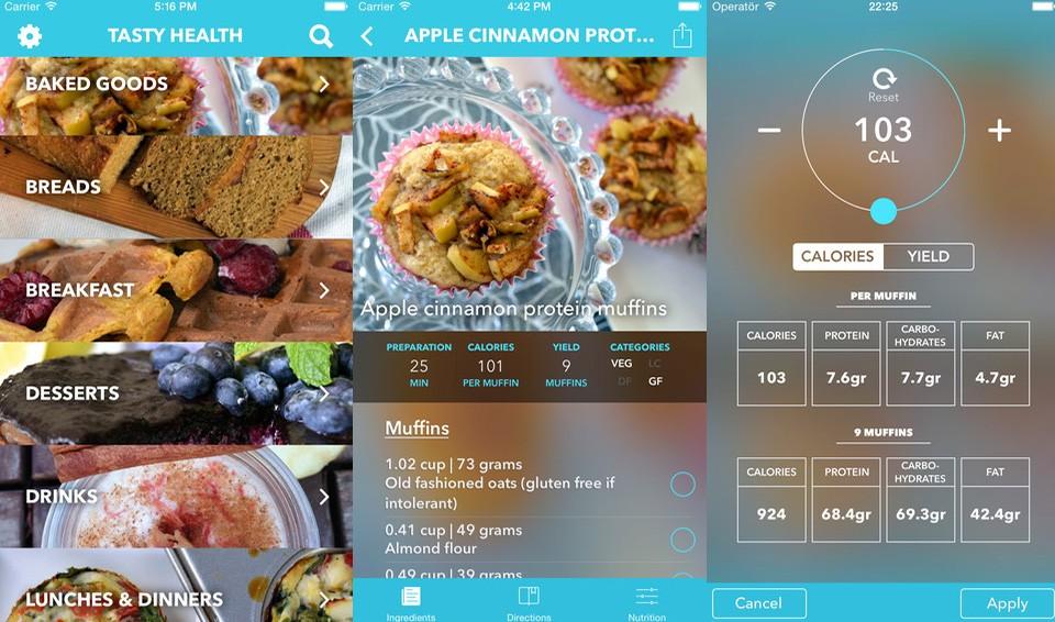 tasty health app