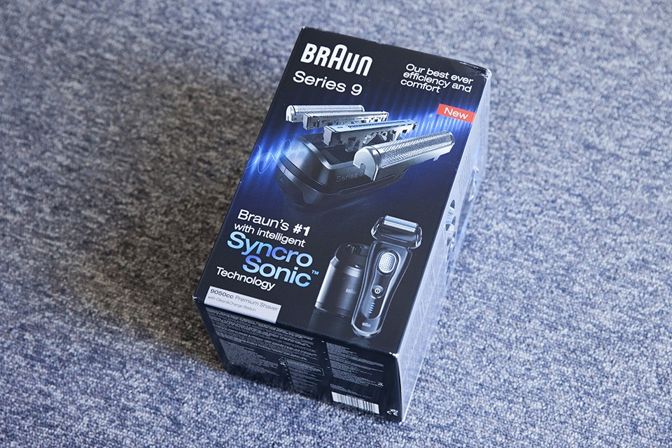 Packaging Braun Series 9