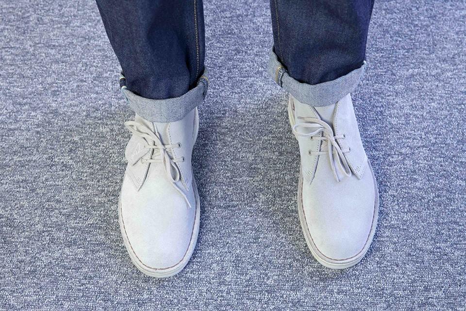 Desert boots Clarks Original look