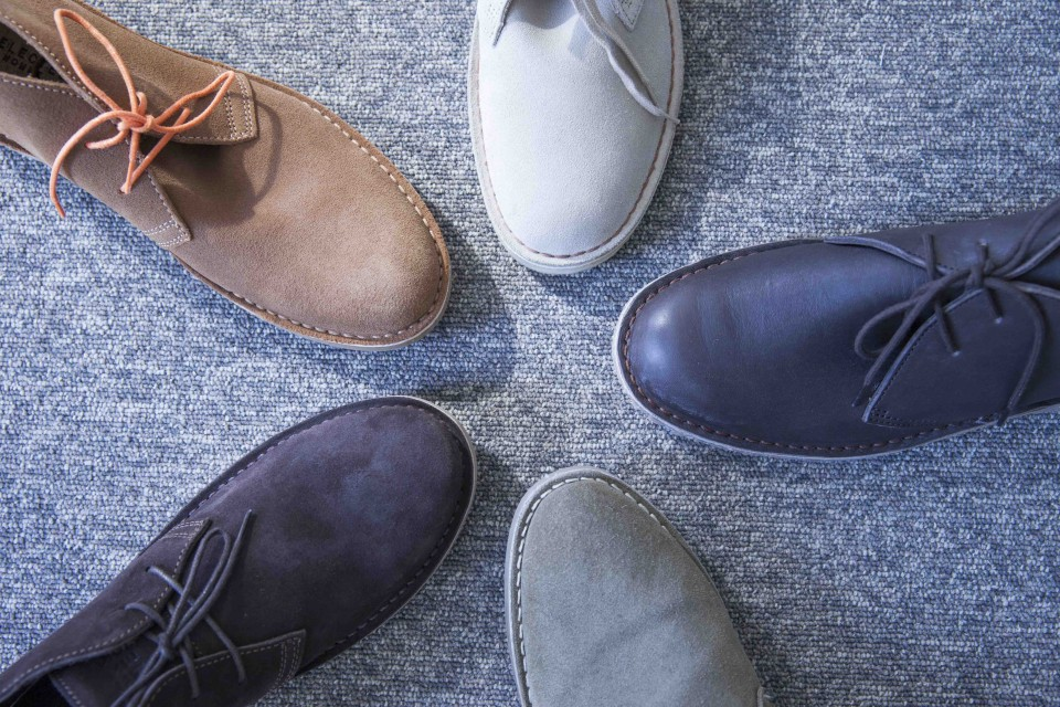 Desert boots forme trapue