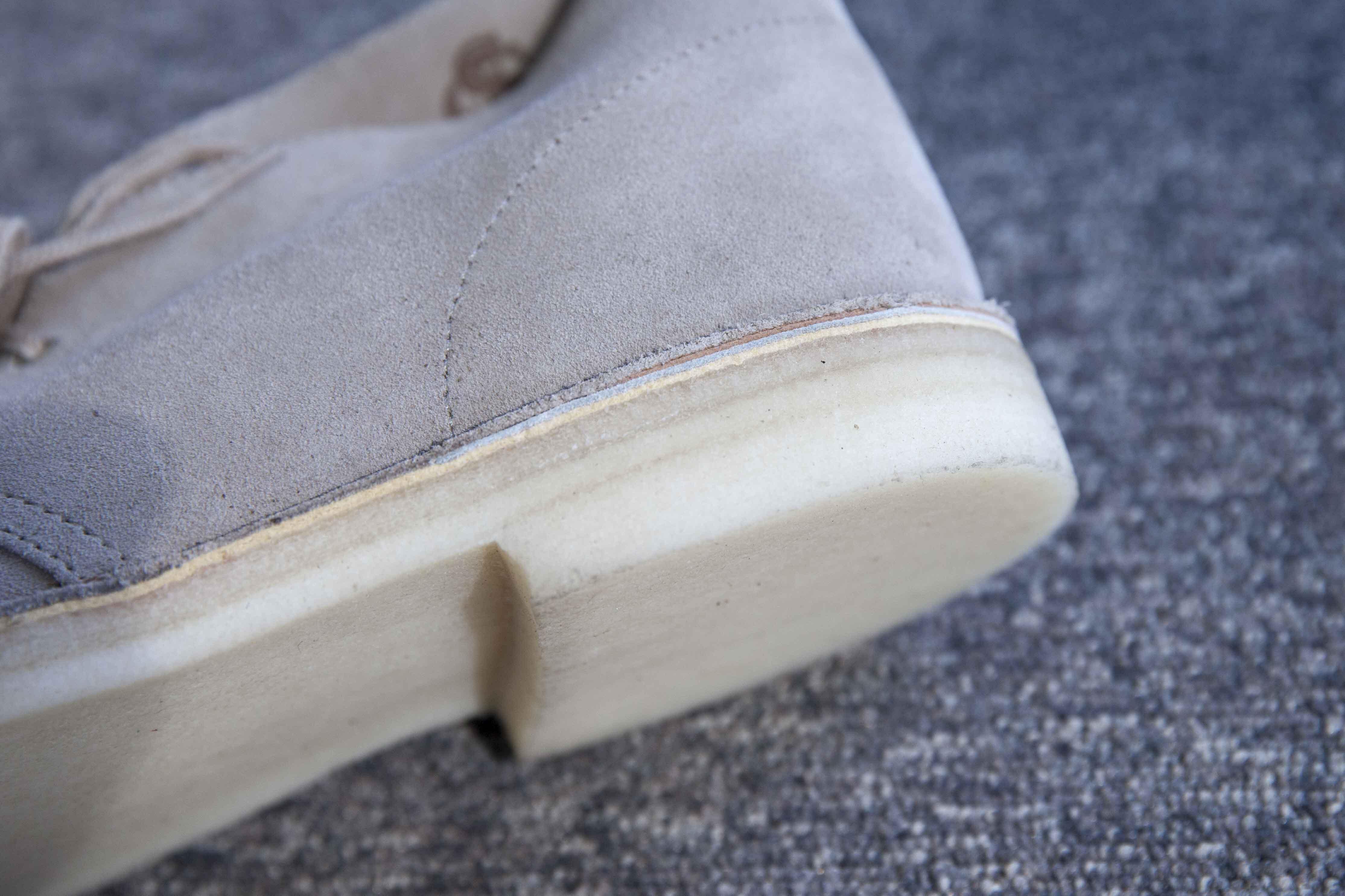 Semelle crepe desert boots