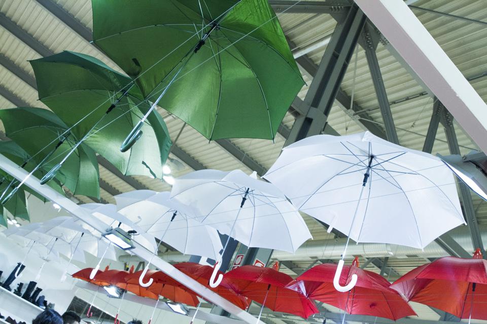 italie drapeau parapluie