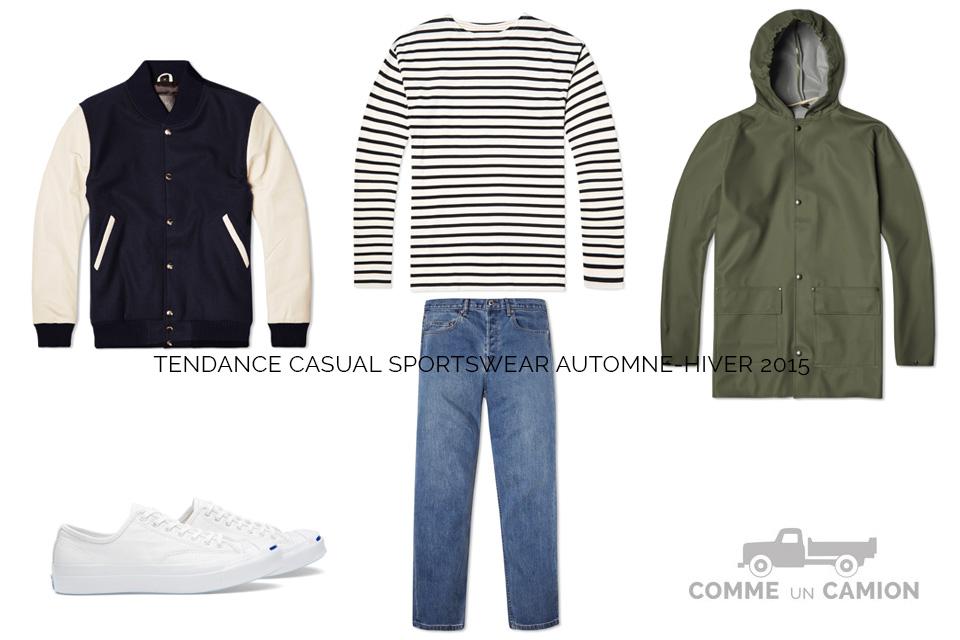 tendance casual sporstwear ah15