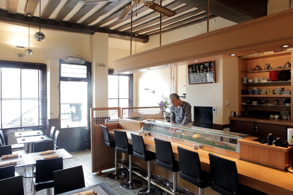 10 restaurants japonais paris connaitre - Restaurant japonais cuisine devant vous ...
