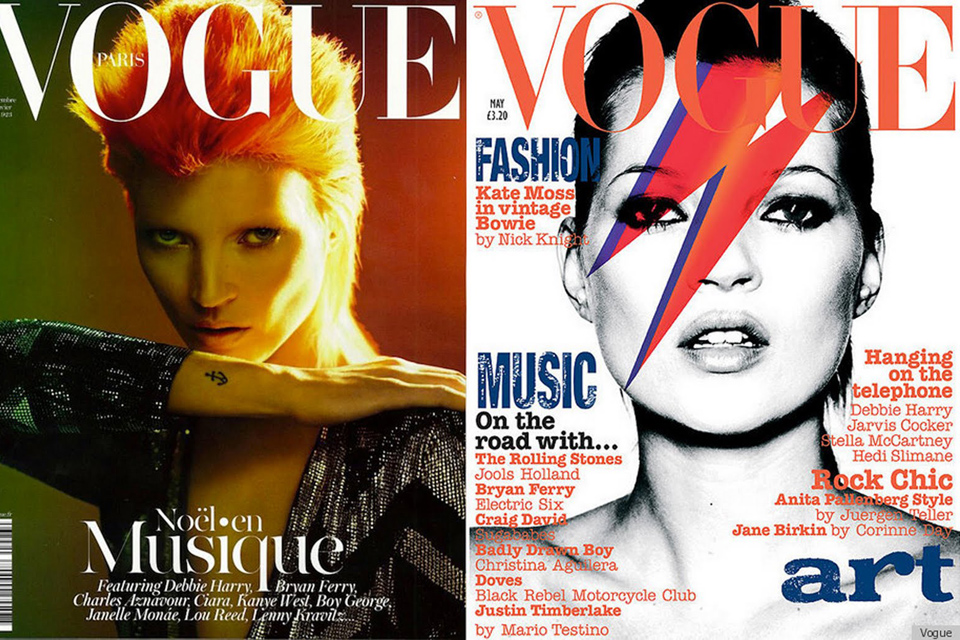 Kate Moss Bowie