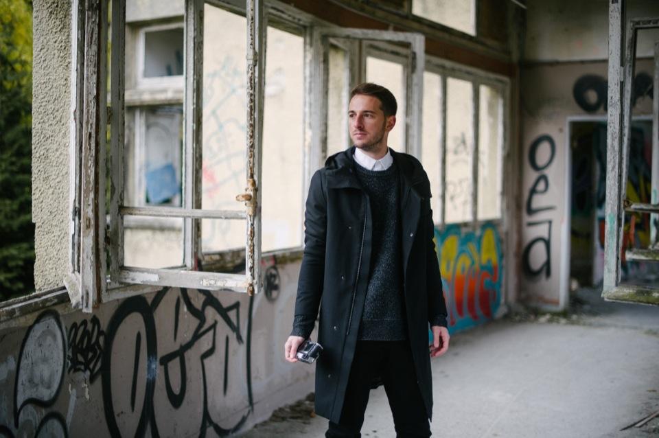 Sanatorium Couloir tenue Noir Blanc