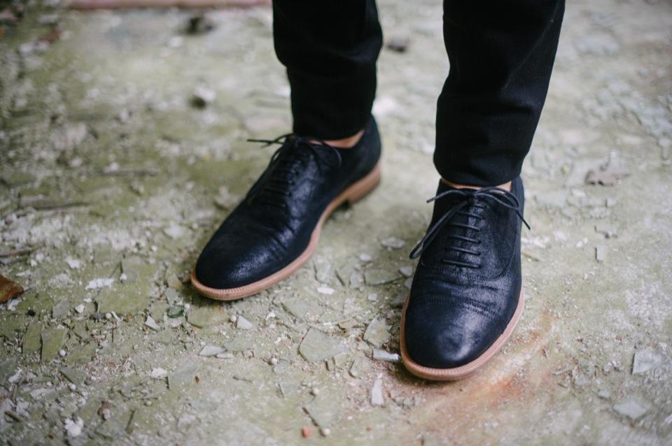 Sanatorium chaussures derbies Maison Margiela
