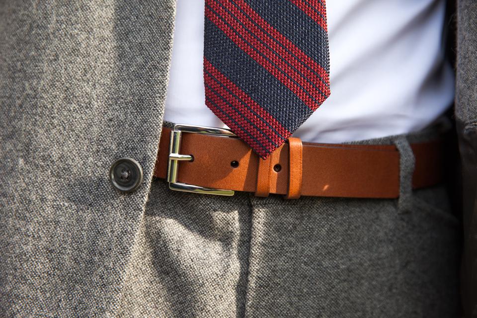 accord cravate ceinture homme