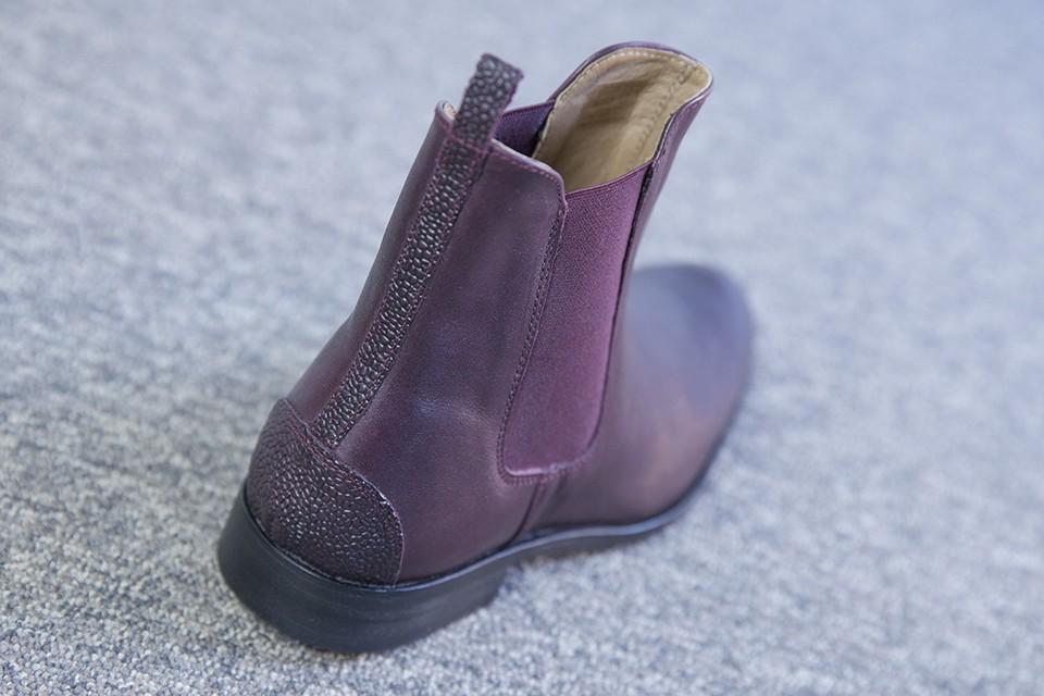 Boots Juch profil arrière