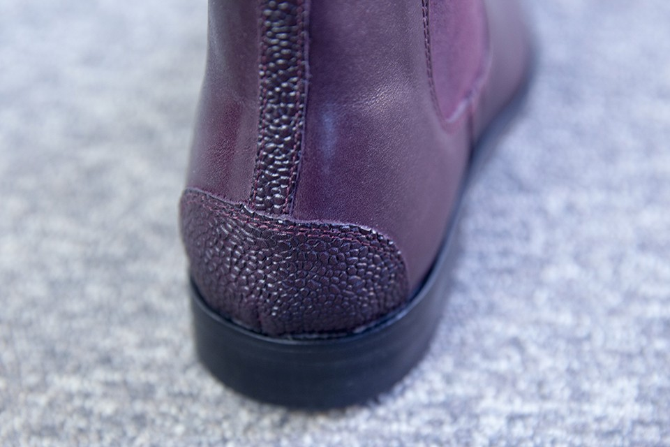 Boots Juch Cuir grainé