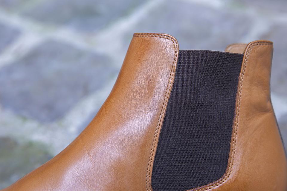 Chelsea boots Pied de biche elastique