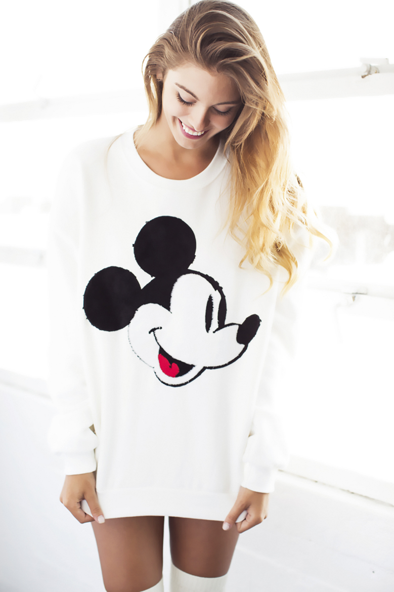 carmella rose mickey sweater