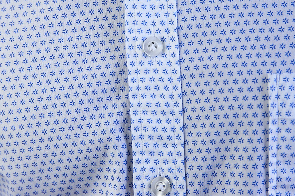 Chemise Cafe Coton boutons