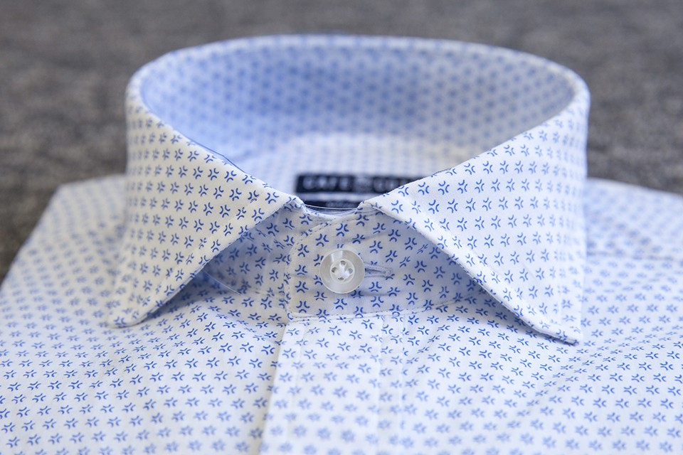 Chemise Cafe Coton col