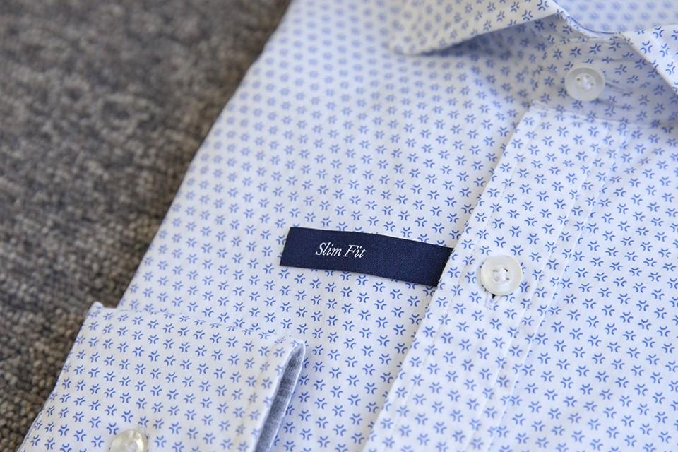 chemise-cafe-coton-motifs-slim-fit