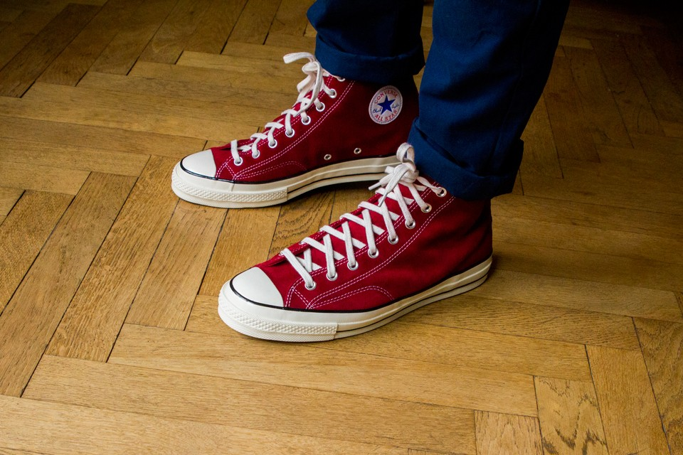 Converse All Star Chuck Taylor 70 Suede : Test & Avis