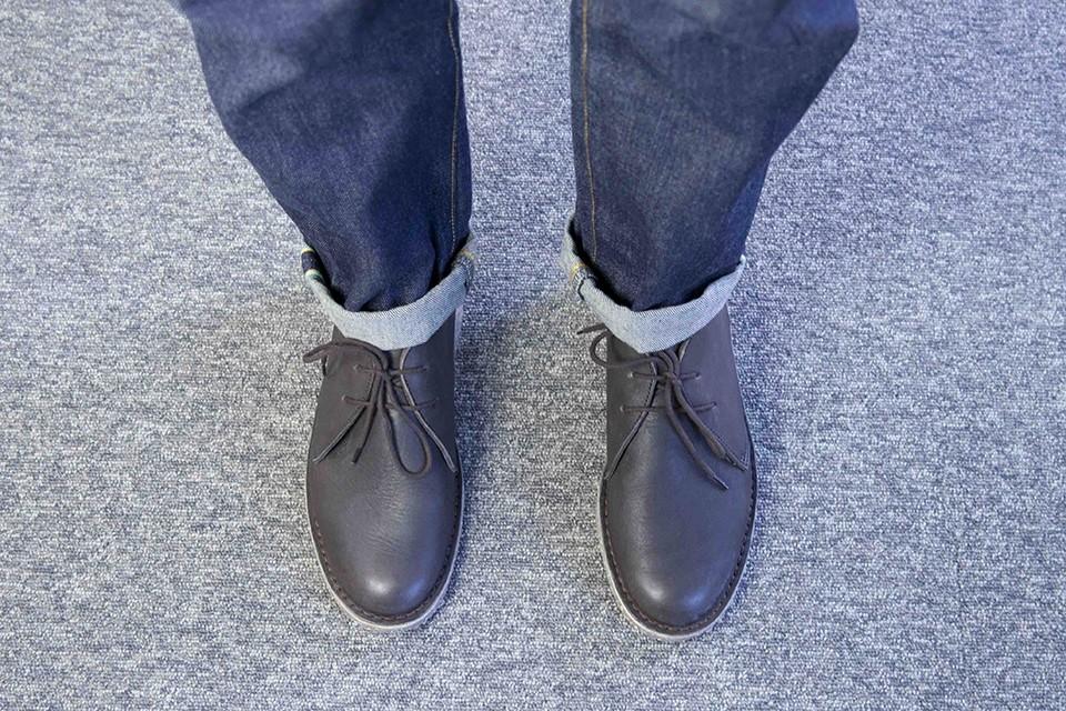 Desert boots Empreinte Look