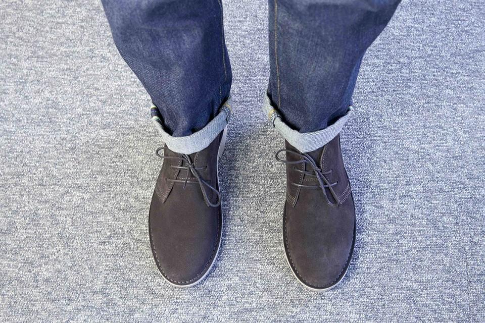 Desert boots Jack Jones look