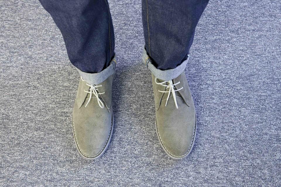 Desert boots Newlook look