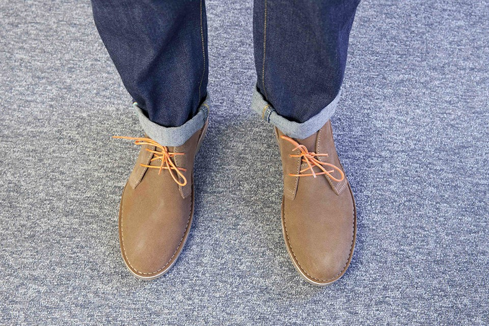Desert boots Selected look