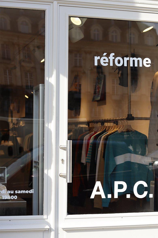Reforme rennes vitrine
