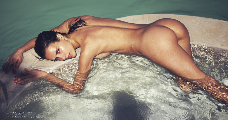 Elisa meliani treats magazine