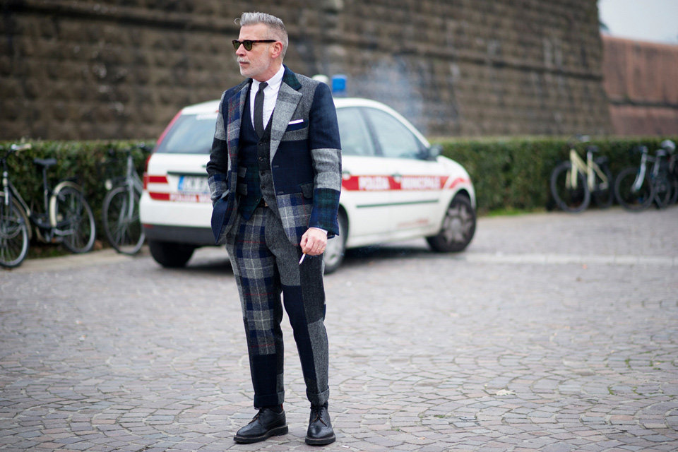 Costume Laine Nick Wooster