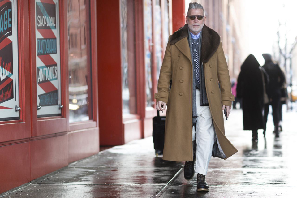 Manteau Long Nick Wooster