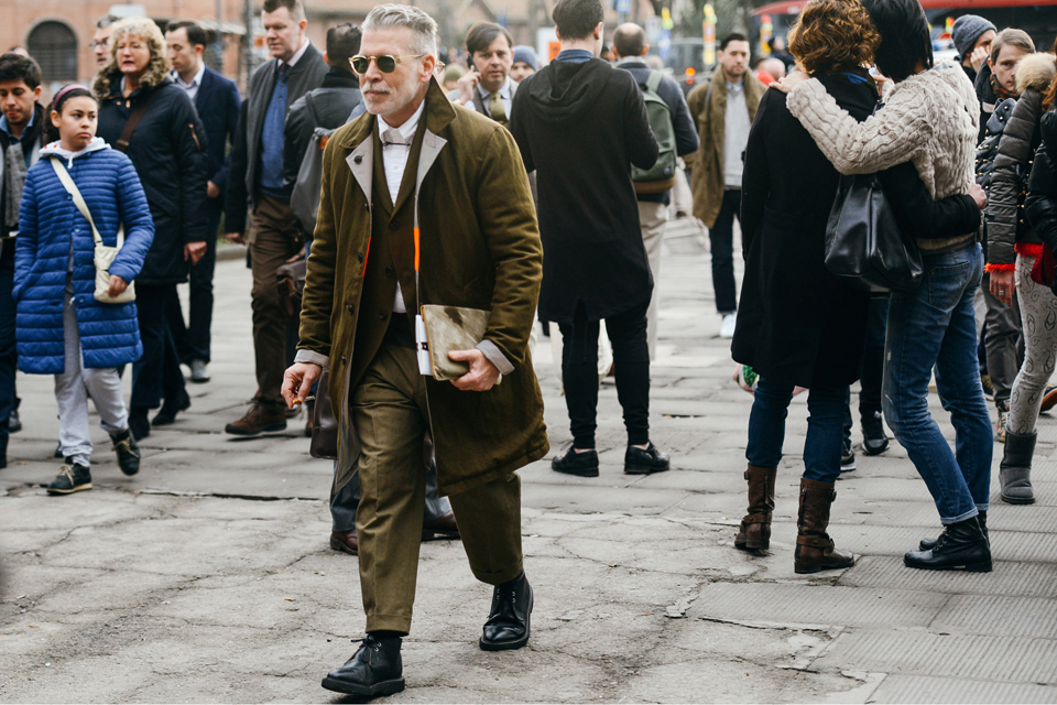 Milan Fashion Week Nick Wooster