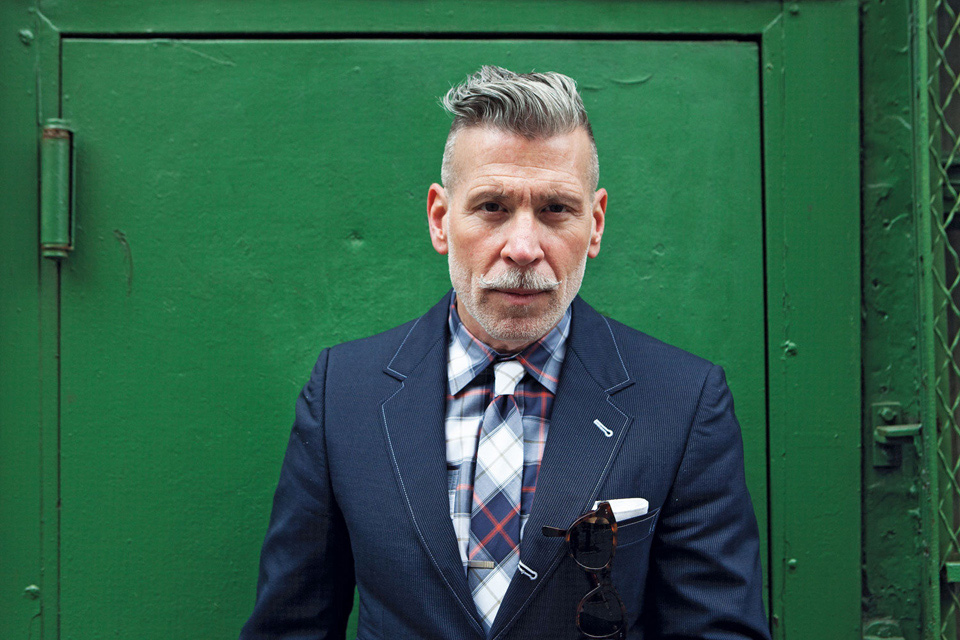 Moustache Nick Wooster