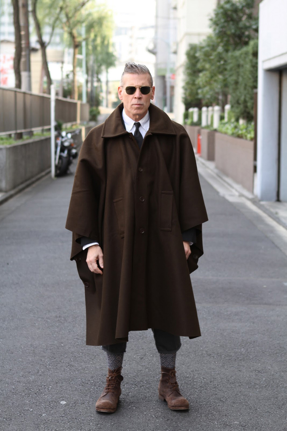 Poncho Nick Wooster
