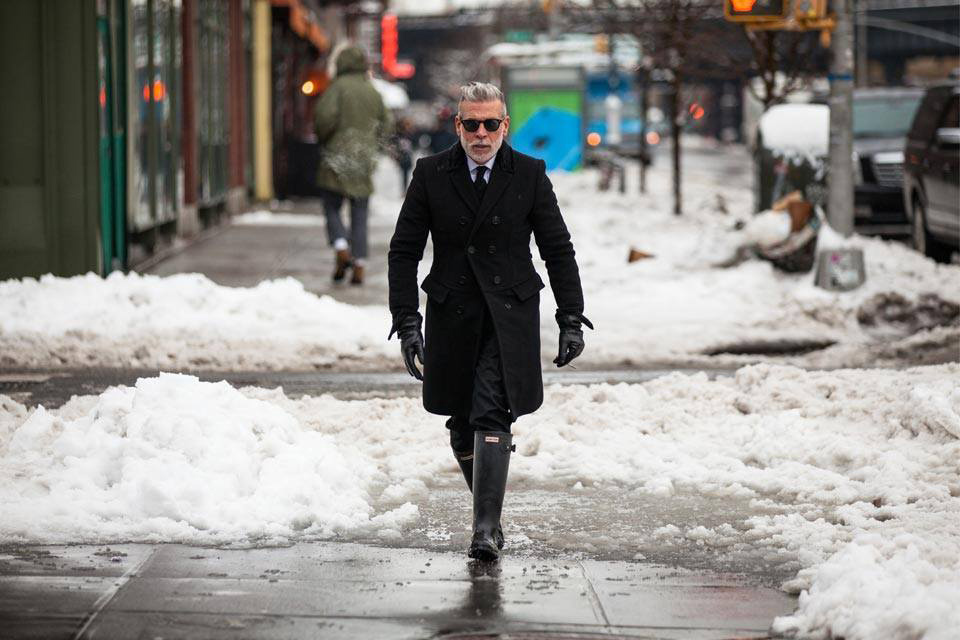 Street Style Nick Wooster