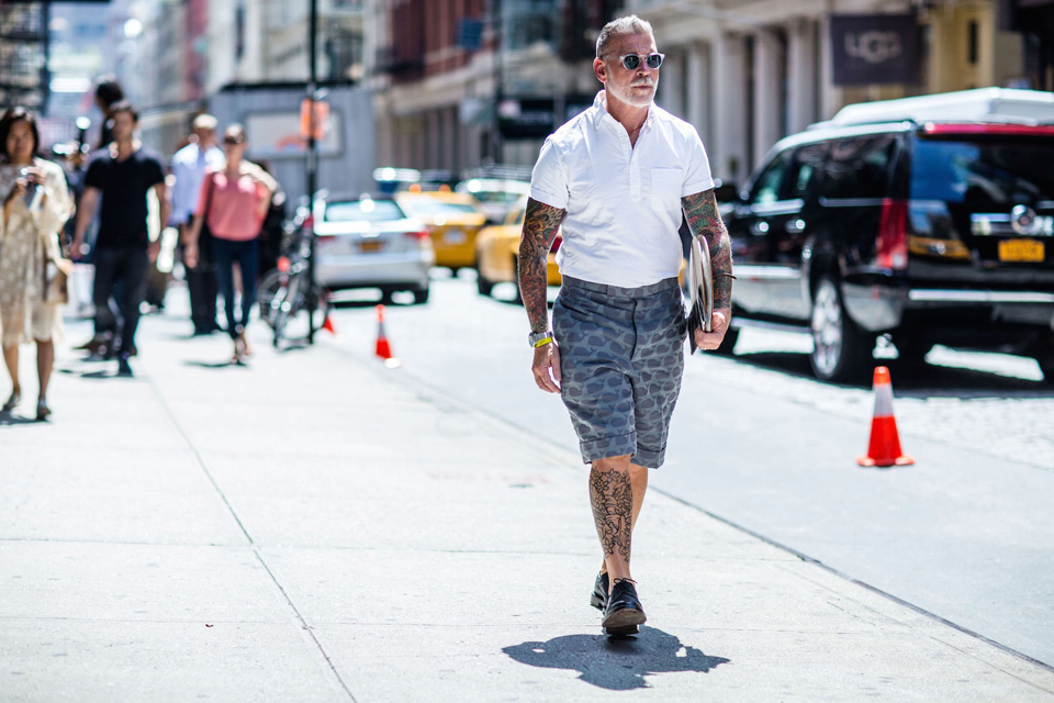 Tatouage Nick Wooster