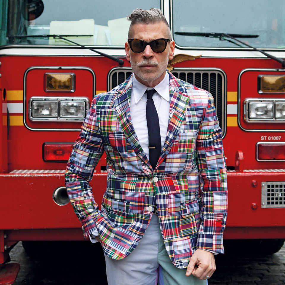 Veste Carreaux Nick Wooster