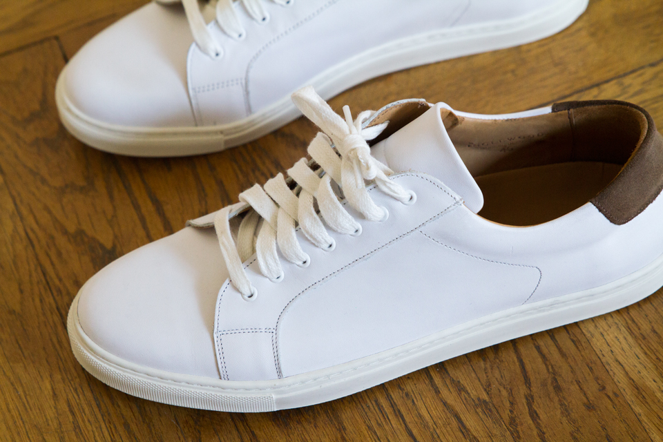 Chaussures blanches Casual homme clHsar0O