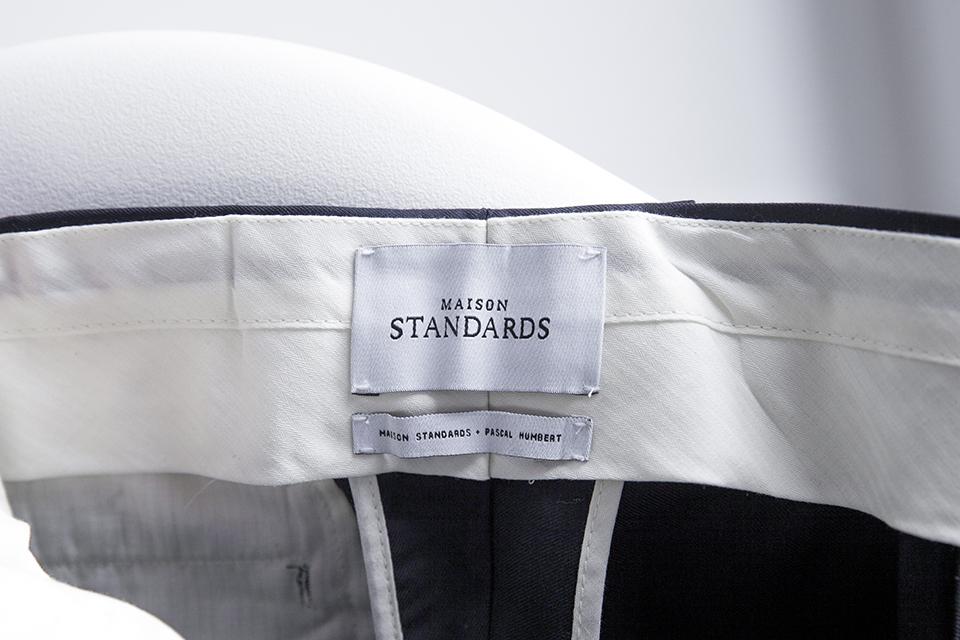 Costume Maison Standards Pantalon etiquette