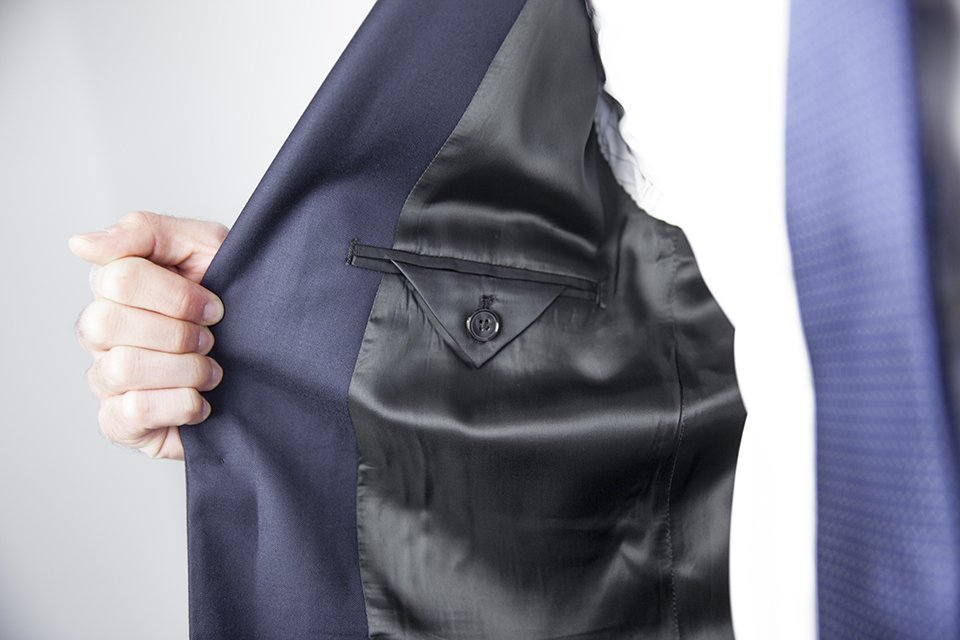 Costume Maison Standards Veste poche interieure