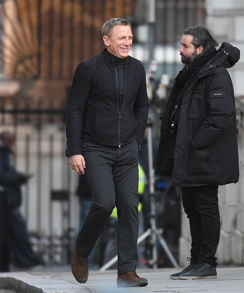 daniel craig spectre london