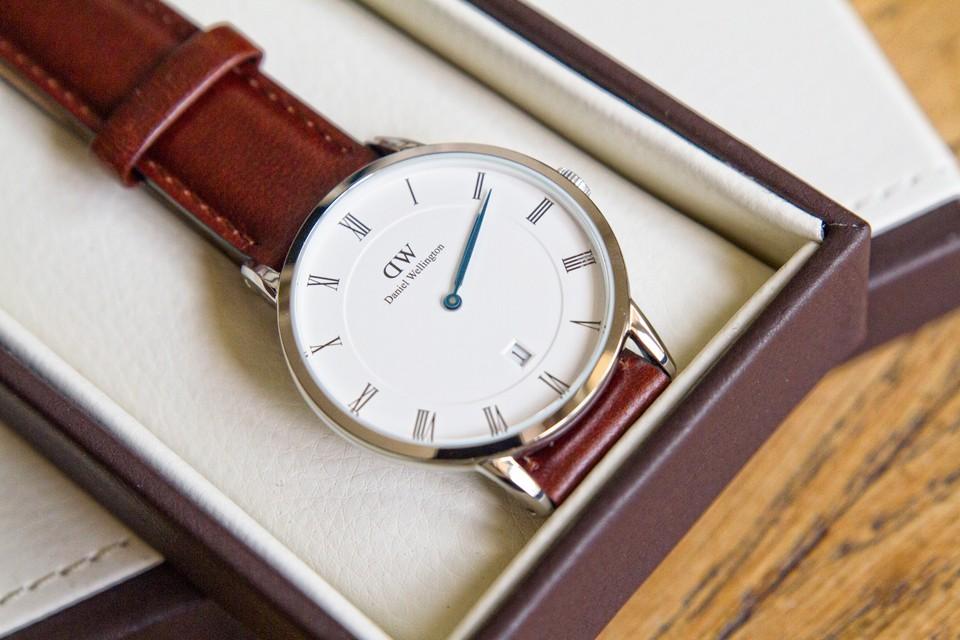 bracelet cuir montre daniel wellington homme