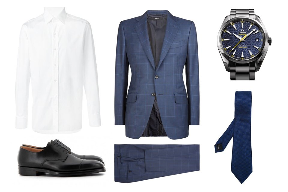 tenue james bond spectre mexique