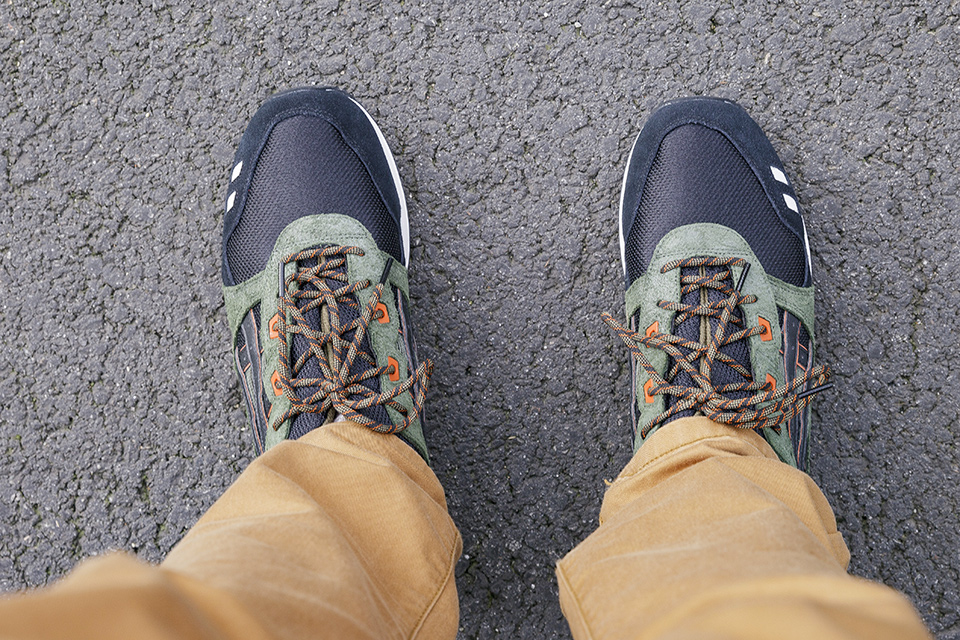 Asics Gel Lyte-3 Winter Trail essayage