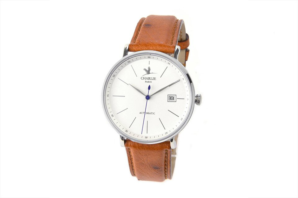 charlie watch initial automatique