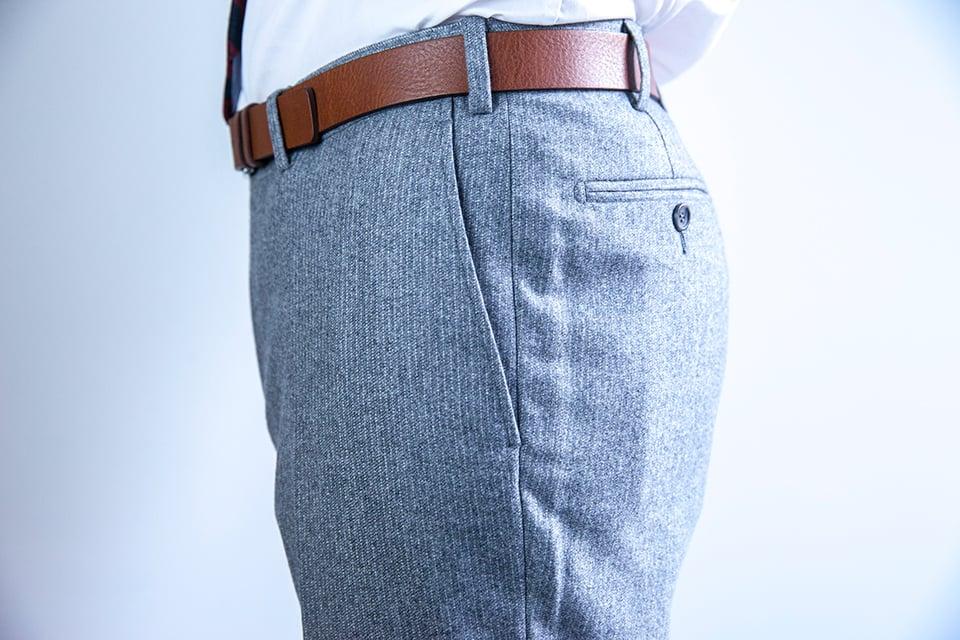 Costume Suitsupply pantalon profil