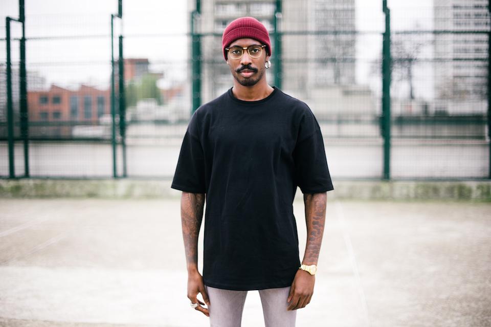 look homme tshirt noir asos