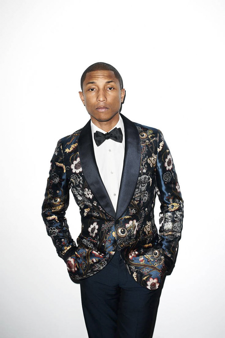 pharrell smoking jacket